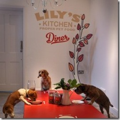 Lilly's Dog only Restaurant in London