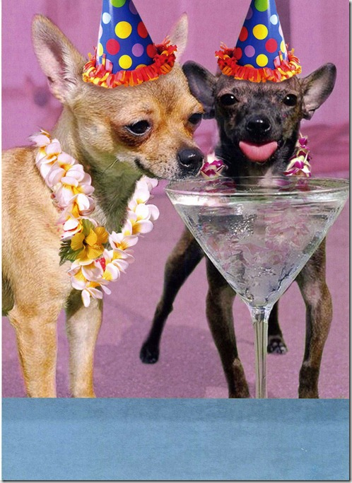 B-Day Card - Chi Martinis