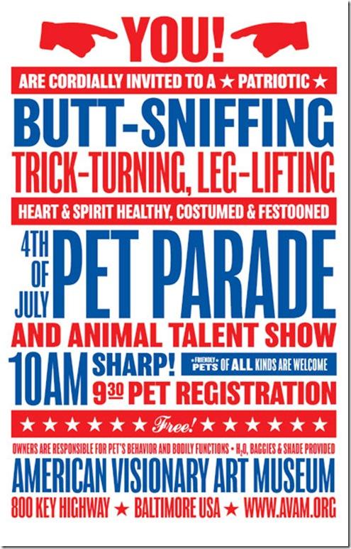 AVAM-Pet-Parade-Poster