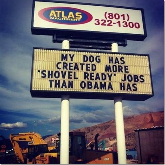 Shovel Ready Jobs