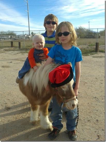 Pony For Christmas 2014 - Courtney's Boys