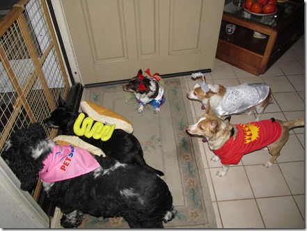 Greeters Halloween 2013